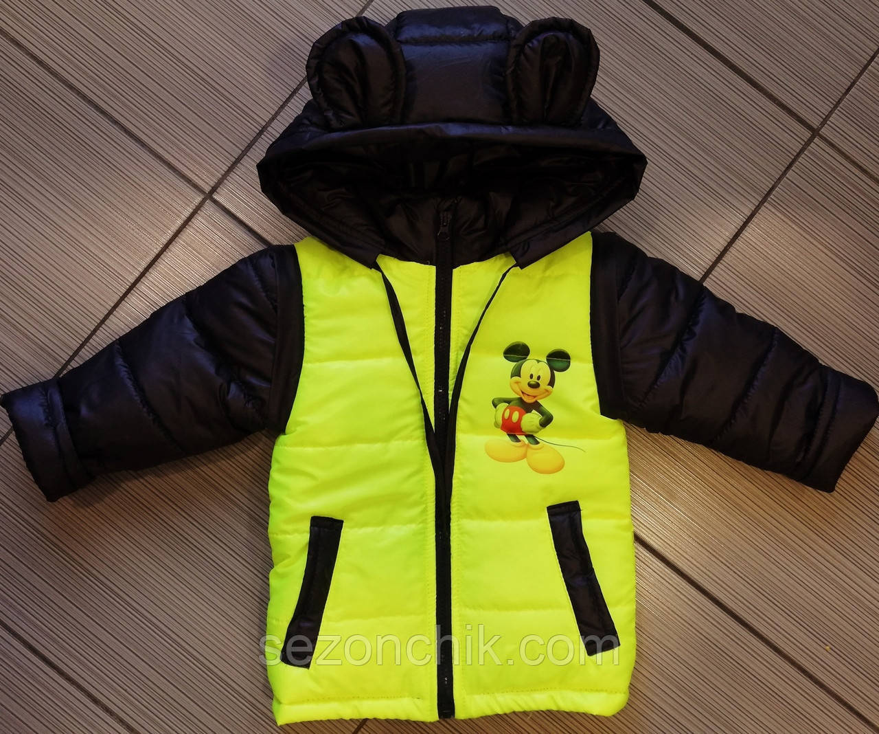 Куртки с отстежными рукавами на мальчиков весенние
