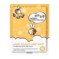 Маска тканевая c медом Esfolio Pure Skin Honey Essence Mask Sheet