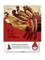 Маска тканевая c красным женьшенем Esfolio Red Ginseng Essence Mask Sheet