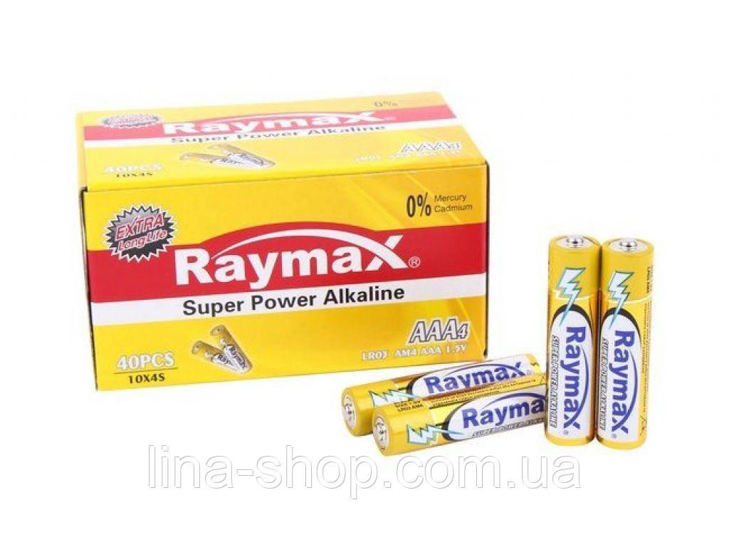 Raymax - Батарейки Raymax Super Power Alkaline AAA, 2 шт (RAAA)