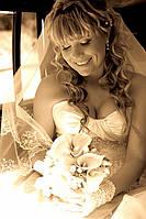 Фото невесты.