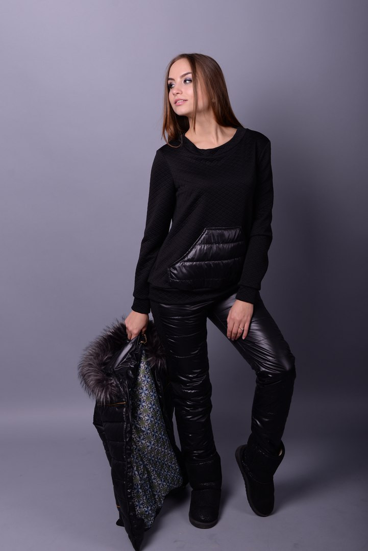 Женский зимний костюм-тройка в разных размерах н-10grk36