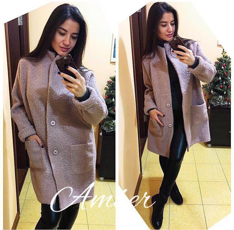 Стильное женское пальто у-8pal119