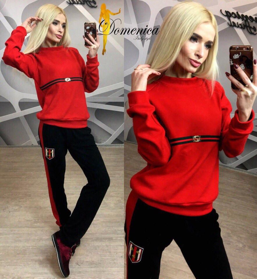 Модный женский спортивный костюм к-31spt342