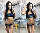 Женский купальник Пайетка хамелеон р-31bod123, фото 2