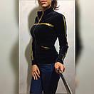 Женская велюровая кофта у-49dis496, фото 2