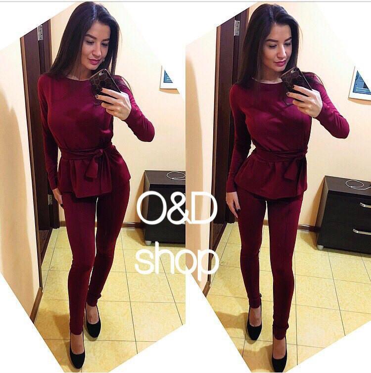 Стильный женский костюм у-t27kos507