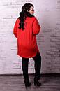 Женская рубашка туника в больших размерах v-t10blr1229, фото 3