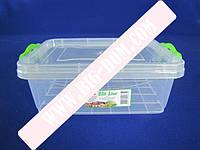 Лоток пластиковый пищевой контейнер Судок отдельный 2665 №0 1,2л