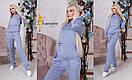 Женский повседневный костюм на завязках в расцветках d-t31kos549, фото 3