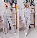 Женский повседневный костюм на завязках в расцветках d-t31kos549, фото 4
