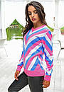 Яркий женский свитер у-t61dis512, фото 3