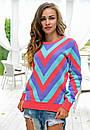 Яркий женский свитер у-t61dis512, фото 5