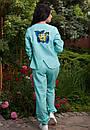 Стильный женский льняной костюм у-t61kos564, фото 5