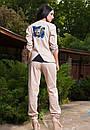 Стильный женский льняной костюм у-t61kos564, фото 7