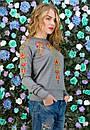 Женская кофта с красивым принтом в расцветках z-t61dis605, фото 4