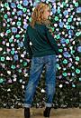 Женская кофта с красивым принтом в расцветках z-t61dis605, фото 7