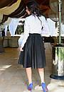 Белая женская рубашка у-t61bir342, фото 3