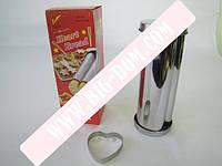 Форма металл для выпеч Сердце VT6-16960