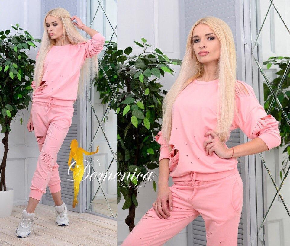 Женский спортивный костюм в расцветках f-t31spt408