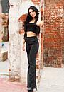 Женский летний брючный костюм черного цвета j-ta61kos1, фото 3
