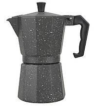 Кофеварка гейзерная 600мл Maestro 1666-6G