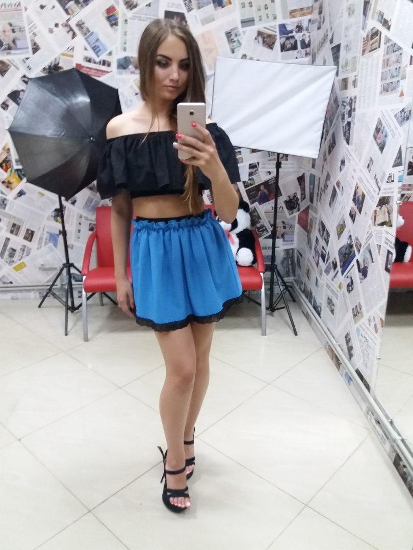 Летняя женская юбка у-t10130