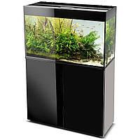 Тумба прямоугольная для аквариума Aquael GLOSSY 100, черная