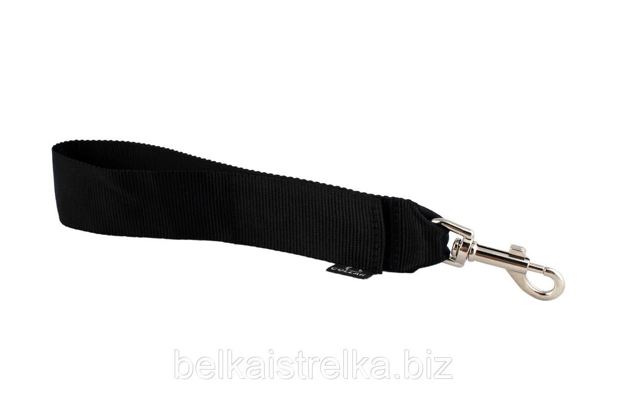 """Пристежка Collar """"Dog Extremе"""" к ремню безопасности, черная, ширина 50мм"""