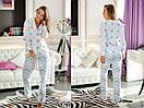 Женская хлопковая пижама с штанами в расцветках 31odd02, фото 7