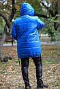 Женская зимняя куртка прямого кроя в больших размерах 10blr185, фото 2