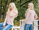 Вязаный свитер с высокой горловиной в расцветках 31dis94, фото 2