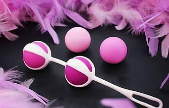 """Вагинальные шарики от Fun Toys """"Geisha Balls 2"""", 3 см  , фото 2"""
