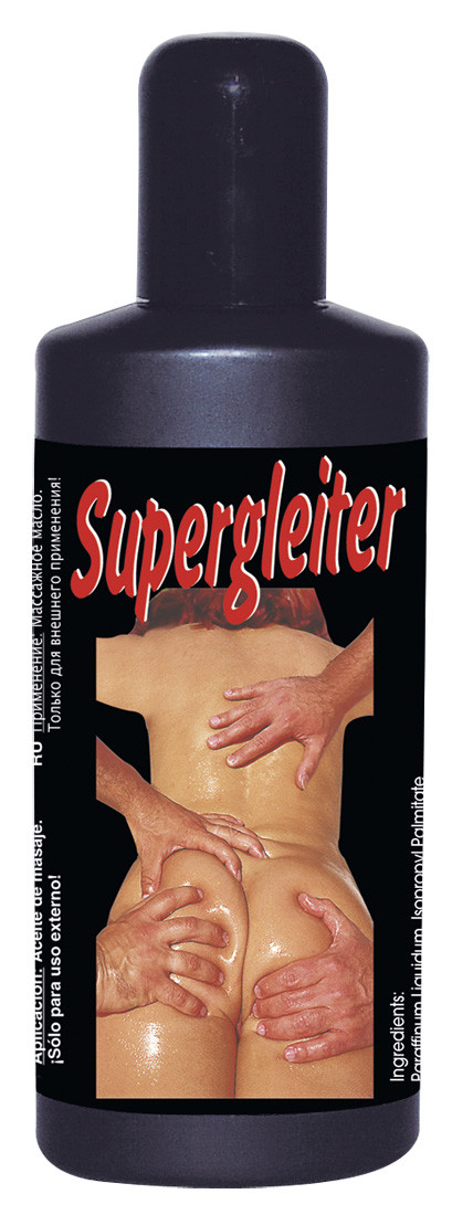 Массажное масло Supergleiter без отдушек, 200 мл