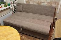 Мягкая лавочака со спальным местом в кухню не большого размера (Какао), фото 1