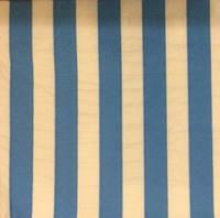 Салфетки праздничные бумажные голубые в полоску