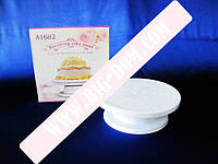 Стойка пластм для торта вращающ.27,5см*9см VT6-18744