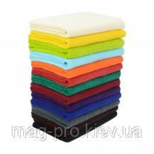 Махровое полотенце цветное 50х90 плотность 420гр./м2 Пакистан