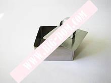 Форма нерж.для гарнира с выталкивателем квадратная 4см VT6-18766