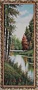 Гобеленовая картина Декор Карпаты V-2 40х100 (gb_31)