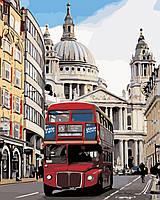 Художественный творческий набор, картина по номерам Лондонский автобус, 40x50 см, «Art Story» (AS0368), фото 1