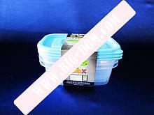 Судки пластм в наборе из 3-х 1л 20*14*7смVT6-18476