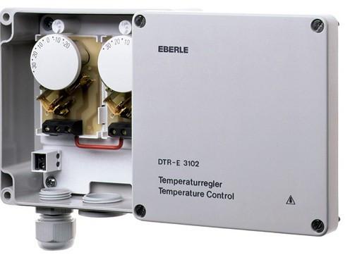 Терморегулятор Eberle DTR-E 3102 для обогрева водостоков