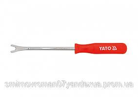 Знімач кріплення оббивки YATO 8х10х14 мм, l= 200 мм [25/100]