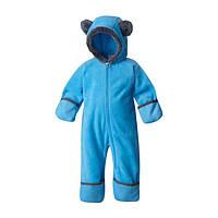 Сдельный комбинезон Columbia флисовый голубого цвета модель Tiny Bear II  для мальчика 62 см d7fffad8263d8