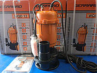 Насос GERRARD WQD12 для выгребных ям канализации и сточных вод