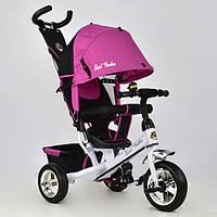 Детский трехколесный велосипед Best Trike 6588-0890 розовый (колеса пена)