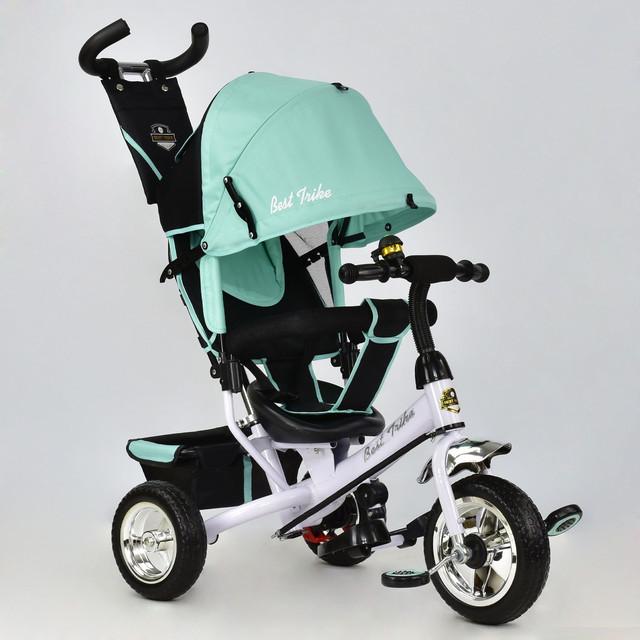 Детский трехколесный велосипед Best Trike 6588-0120 бирюзовый (колеса пена)