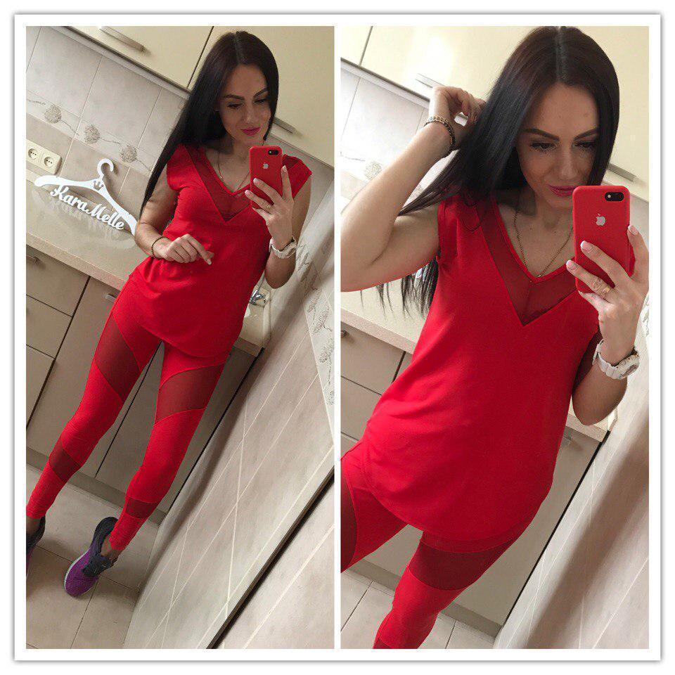 Женский костюм для фитнеса в расцветках 51spt212