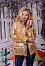 Демисезонная женская объемная куртка на молнии 10kur79, фото 9